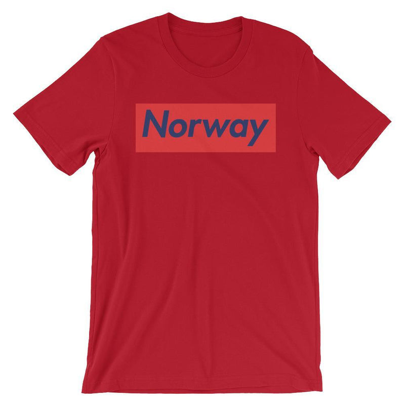 Repparel Norway Red / S Hypebeast Streetwear Eco-Friendly Full Cotton T-Shirt
