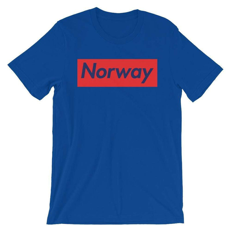 Repparel Norway True Royal / S Hypebeast Streetwear Eco-Friendly Full Cotton T-Shirt