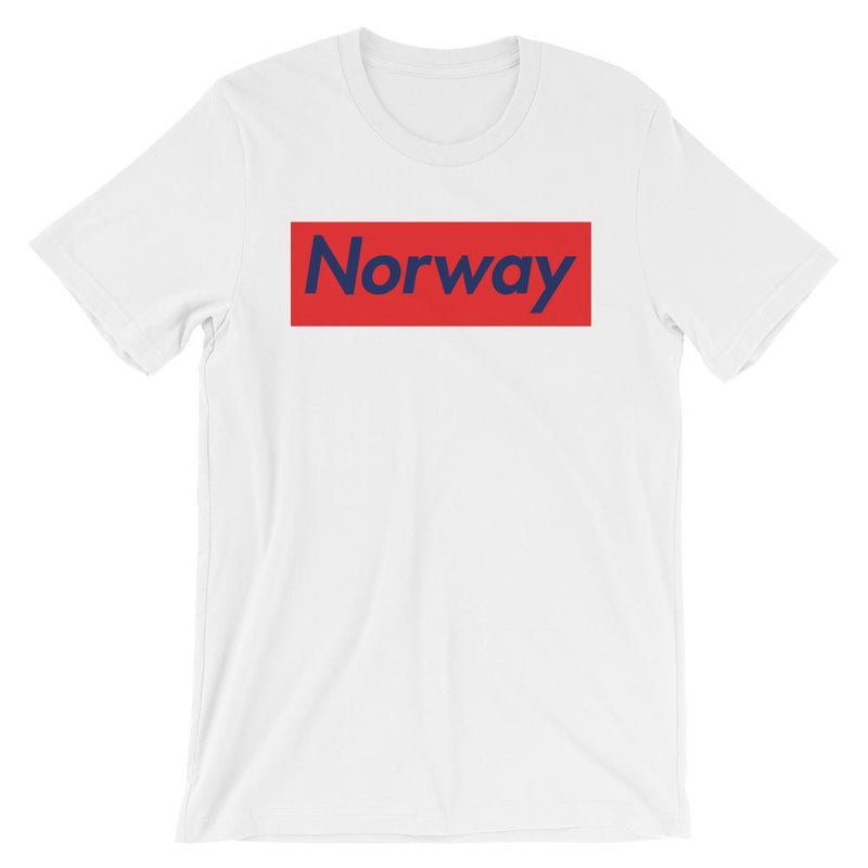 Repparel Norway White / XS Hypebeast Streetwear Eco-Friendly Full Cotton T-Shirt