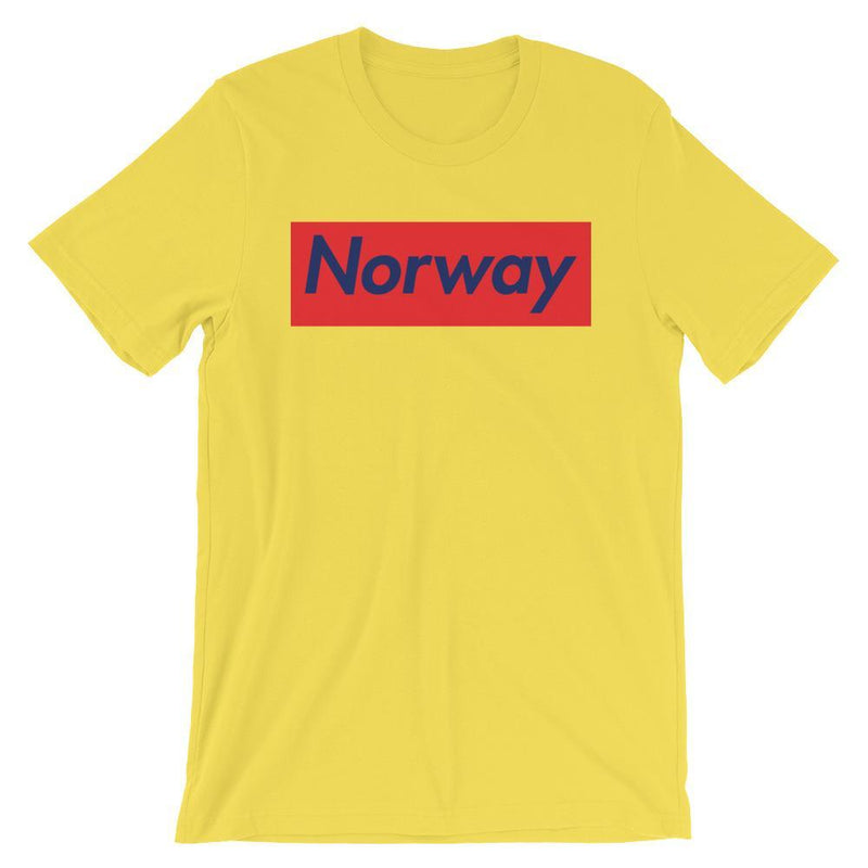 Repparel Norway Yellow / S Hypebeast Streetwear Eco-Friendly Full Cotton T-Shirt