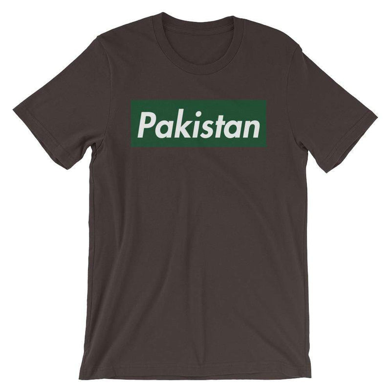 Repparel Pakistan Brown / S Hypebeast Streetwear Eco-Friendly Full Cotton T-Shirt
