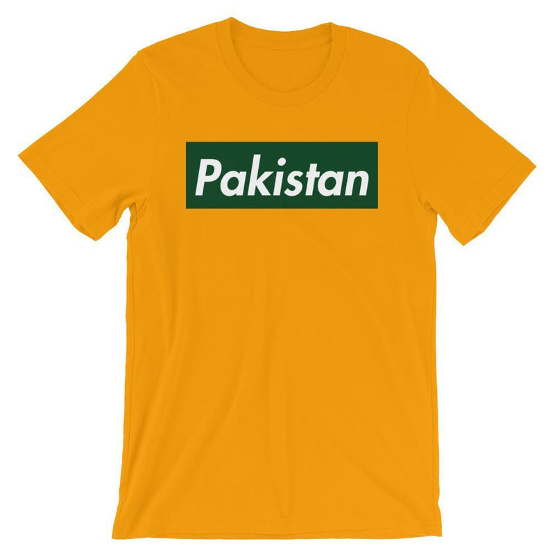 Repparel Pakistan Gold / S Hypebeast Streetwear Eco-Friendly Full Cotton T-Shirt