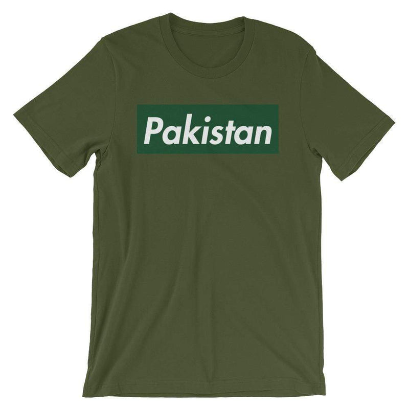 Repparel Pakistan Olive / S Hypebeast Streetwear Eco-Friendly Full Cotton T-Shirt