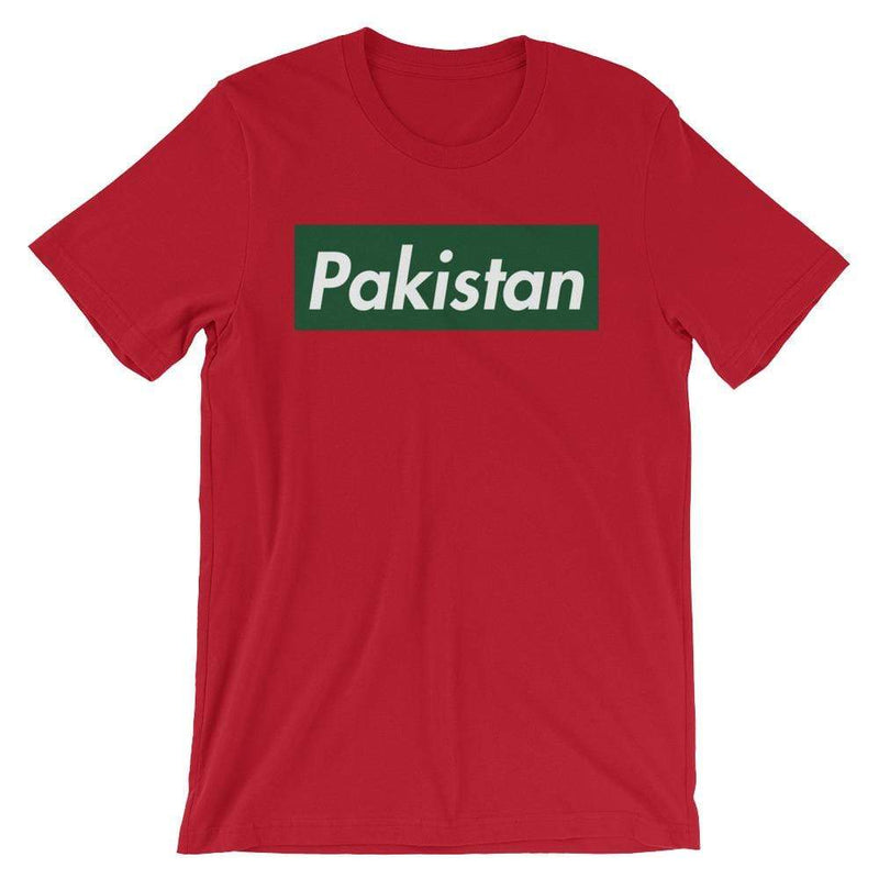Repparel Pakistan Red / S Hypebeast Streetwear Eco-Friendly Full Cotton T-Shirt