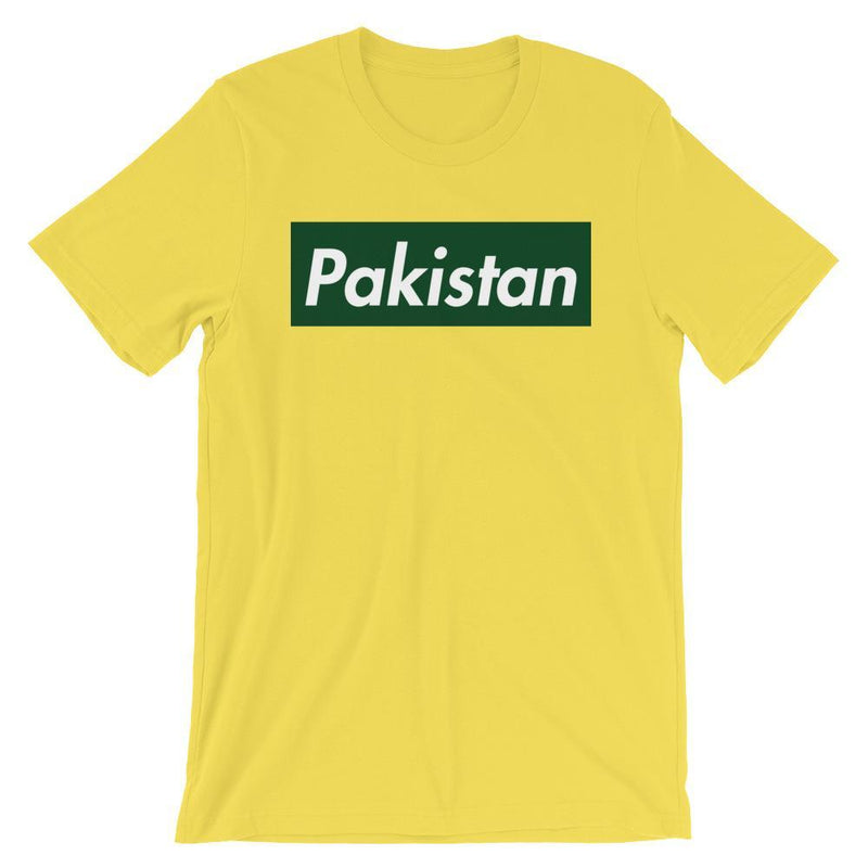 Repparel Pakistan Yellow / S Hypebeast Streetwear Eco-Friendly Full Cotton T-Shirt