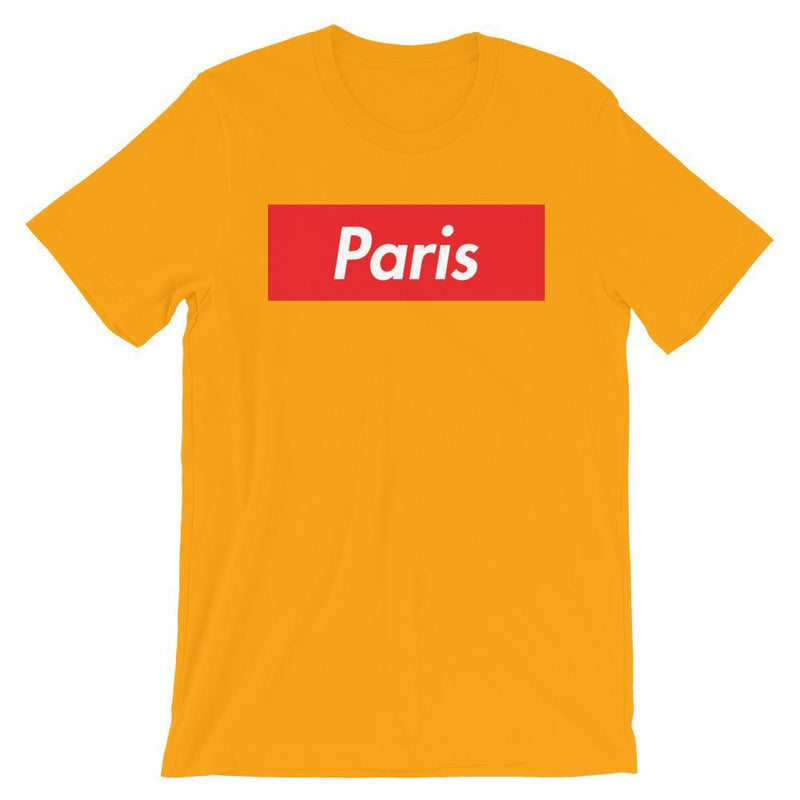 Repparel Paris Gold / S Hypebeast Streetwear Eco-Friendly Full Cotton T-Shirt