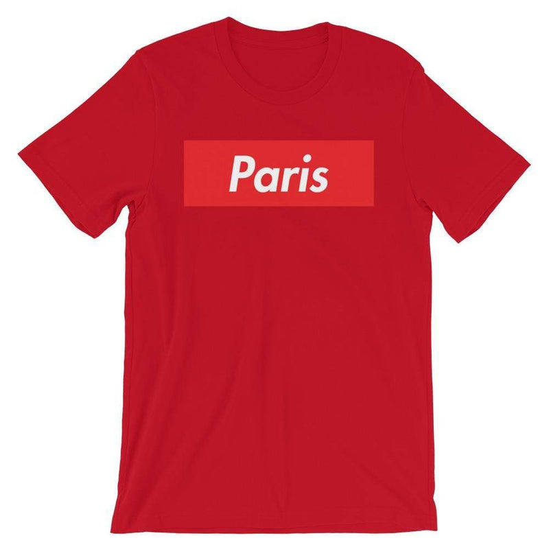 Repparel Paris Red / S Hypebeast Streetwear Eco-Friendly Full Cotton T-Shirt