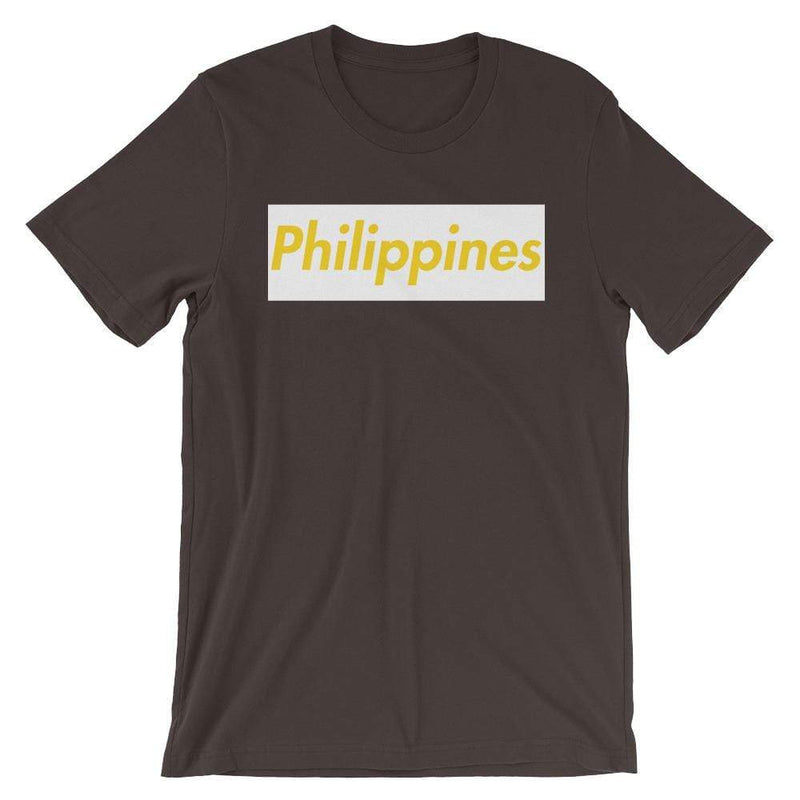 Repparel Philippines Brown / S Hypebeast Streetwear Eco-Friendly Full Cotton T-Shirt