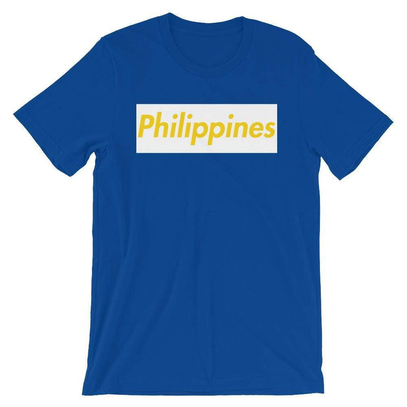 Repparel Philippines True Royal / S Hypebeast Streetwear Eco-Friendly Full Cotton T-Shirt