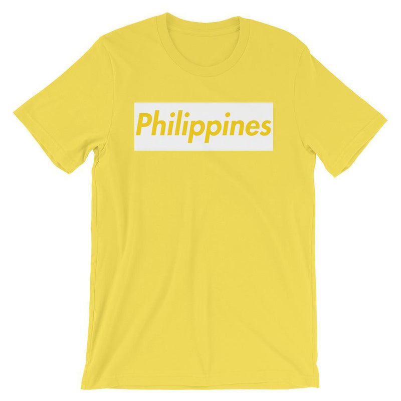 Repparel Philippines Yellow / S Hypebeast Streetwear Eco-Friendly Full Cotton T-Shirt