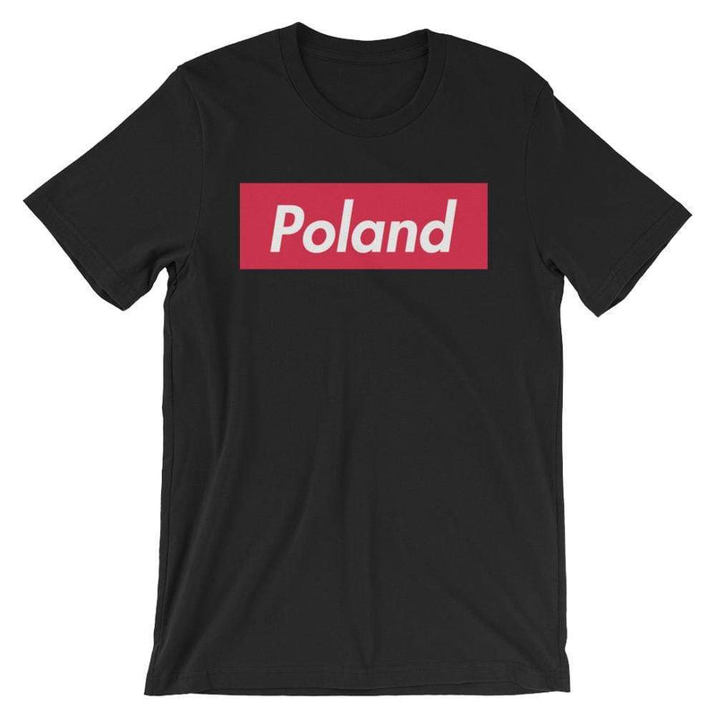 Repparel Poland Black / XS Hypebeast Streetwear Eco-Friendly Full Cotton T-Shirt