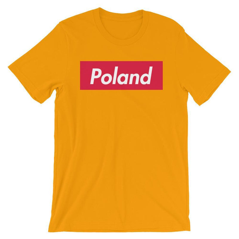 Repparel Poland Gold / S Hypebeast Streetwear Eco-Friendly Full Cotton T-Shirt