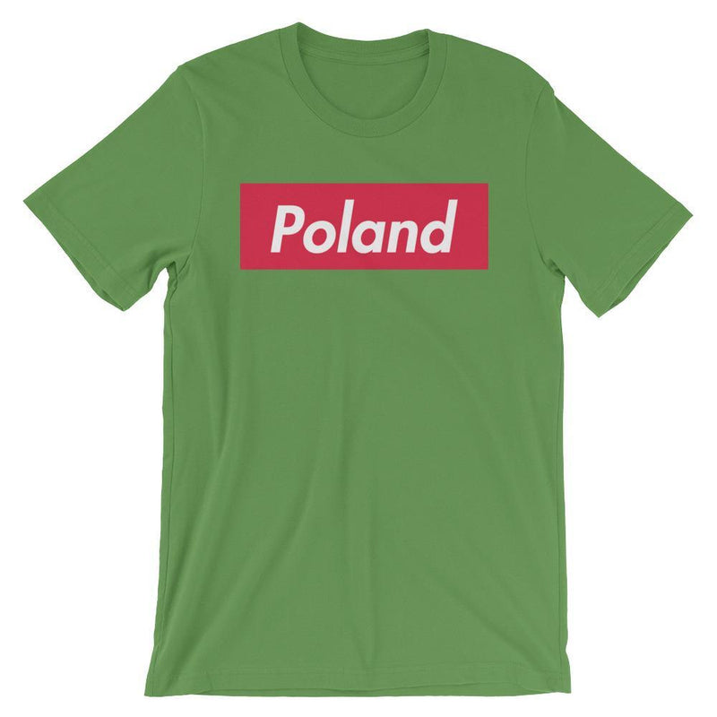 Repparel Poland Leaf / S Hypebeast Streetwear Eco-Friendly Full Cotton T-Shirt