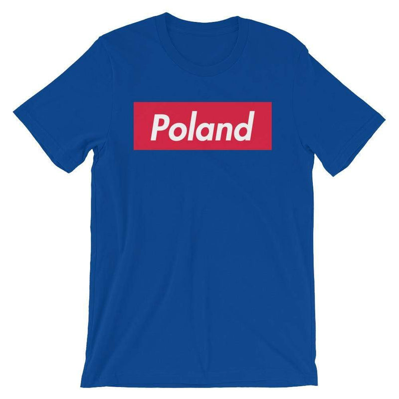 Repparel Poland True Royal / S Hypebeast Streetwear Eco-Friendly Full Cotton T-Shirt