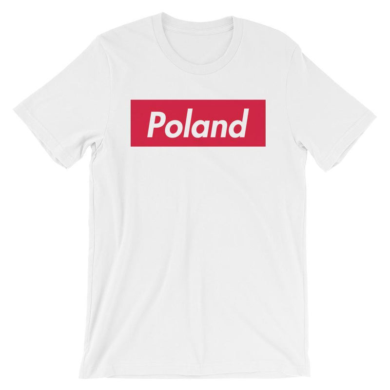 Repparel Poland White / XS Hypebeast Streetwear Eco-Friendly Full Cotton T-Shirt