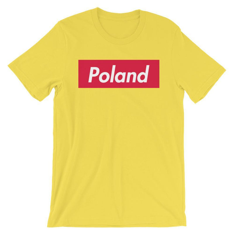 Repparel Poland Yellow / S Hypebeast Streetwear Eco-Friendly Full Cotton T-Shirt