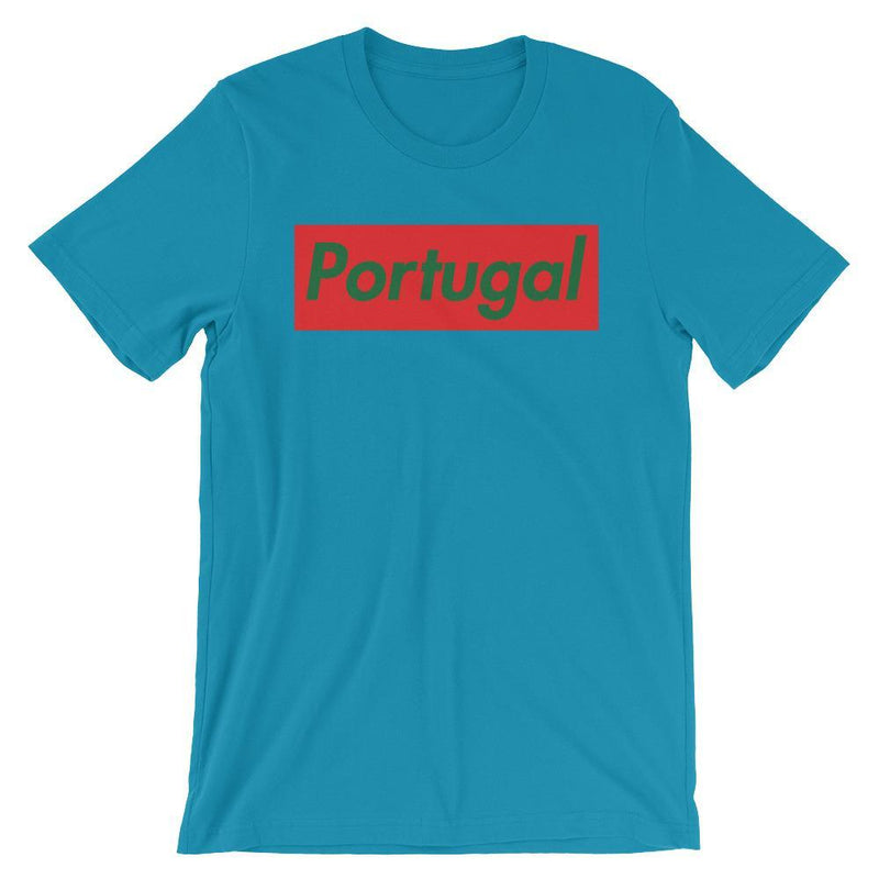 Repparel Portugal Aqua / S Hypebeast Streetwear Eco-Friendly Full Cotton T-Shirt
