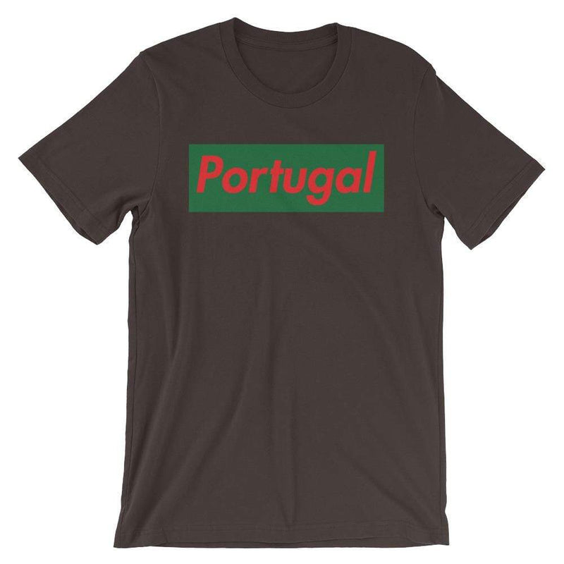 Repparel Portugal Brown / S Hypebeast Streetwear Eco-Friendly Full Cotton T-Shirt