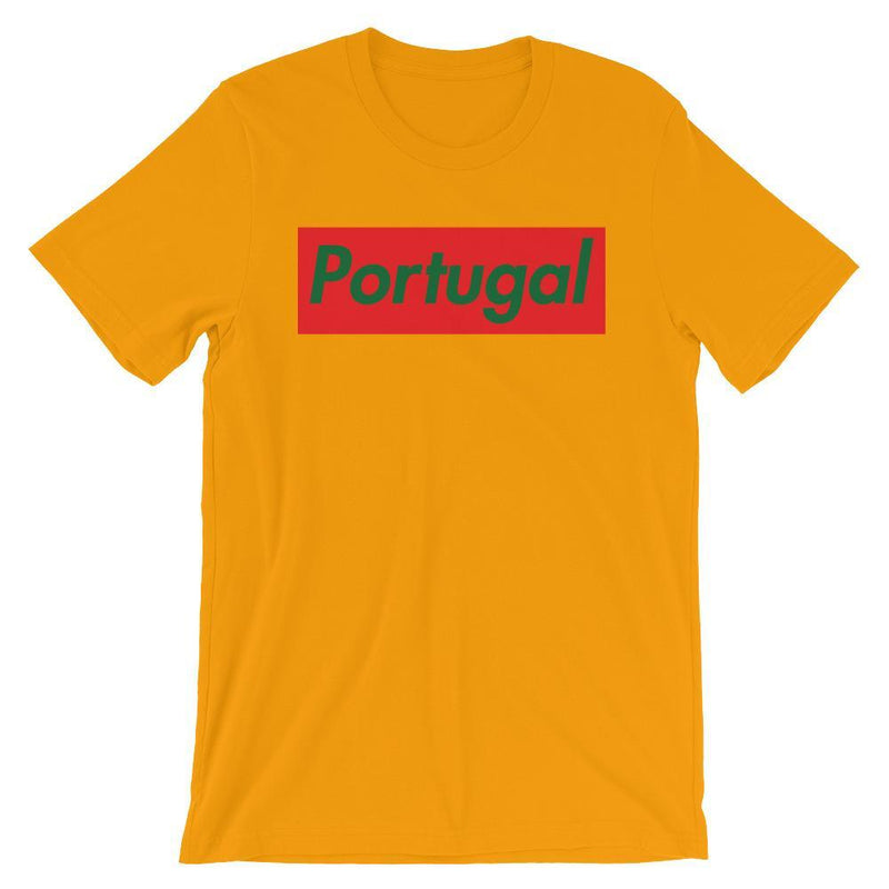 Repparel Portugal Gold / S Hypebeast Streetwear Eco-Friendly Full Cotton T-Shirt