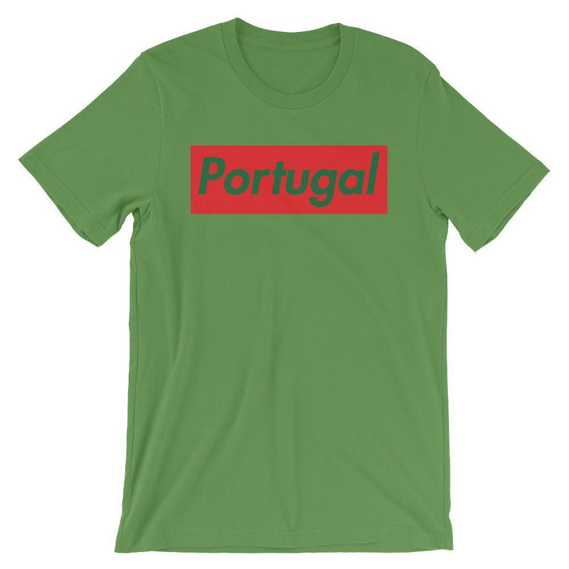 Repparel Portugal Leaf / S Hypebeast Streetwear Eco-Friendly Full Cotton T-Shirt