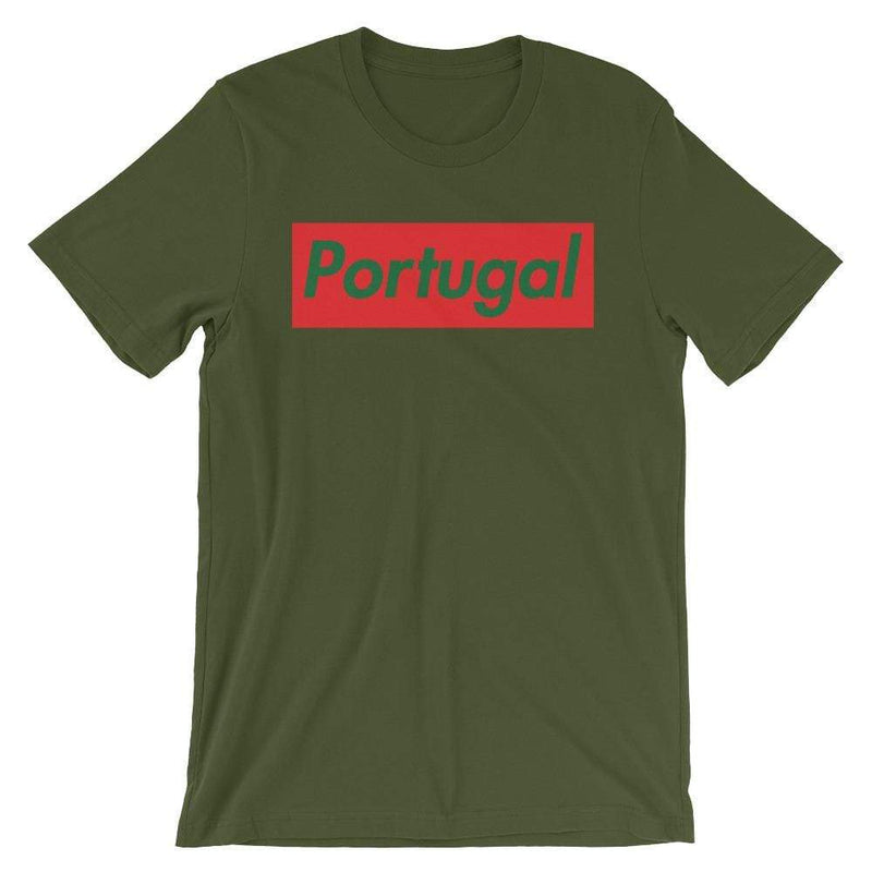 Repparel Portugal Olive / S Hypebeast Streetwear Eco-Friendly Full Cotton T-Shirt