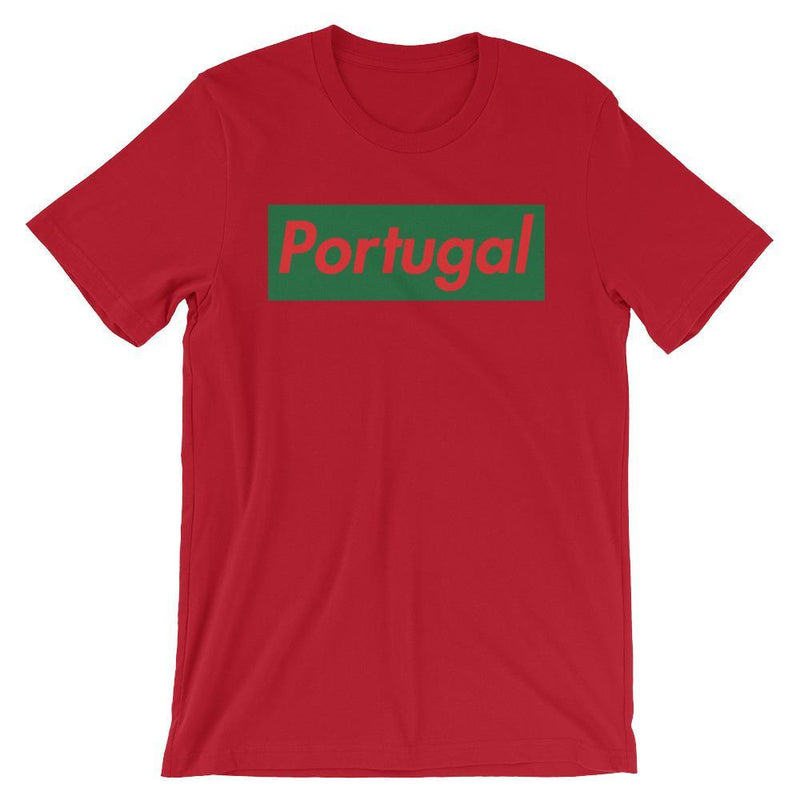 Repparel Portugal Red / S Hypebeast Streetwear Eco-Friendly Full Cotton T-Shirt