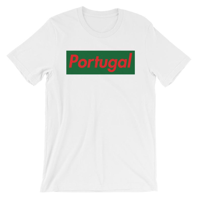 Repparel Portugal White / XS Hypebeast Streetwear Eco-Friendly Full Cotton T-Shirt