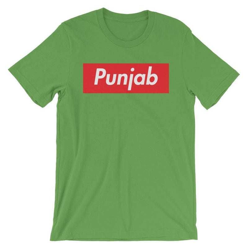 Repparel Punjab Leaf / S Hypebeast Streetwear Eco-Friendly Full Cotton T-Shirt