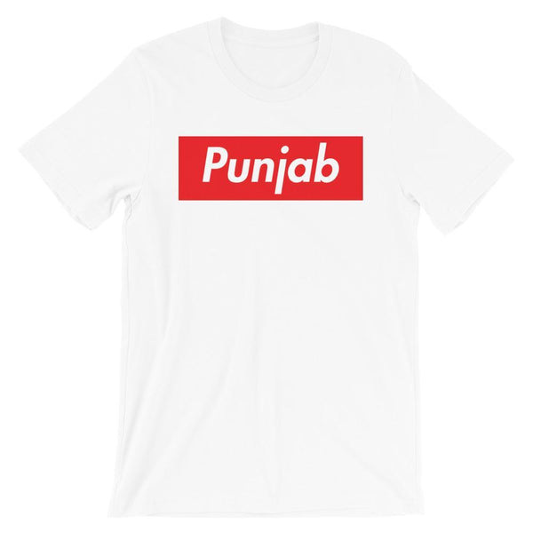 Repparel Punjab White / XS Hypebeast Streetwear Eco-Friendly Full Cotton T-Shirt