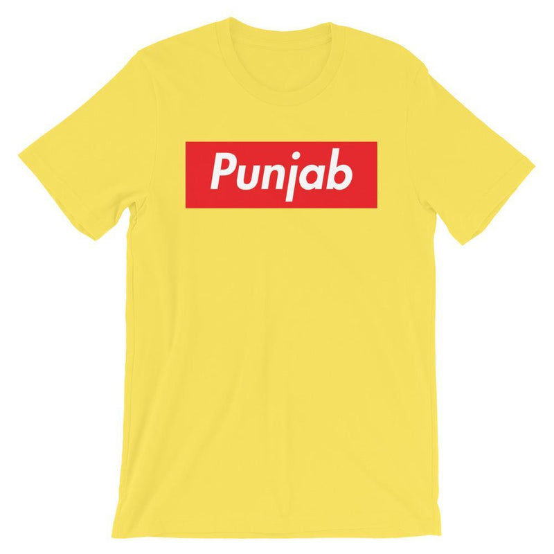 Repparel Punjab Yellow / S Hypebeast Streetwear Eco-Friendly Full Cotton T-Shirt