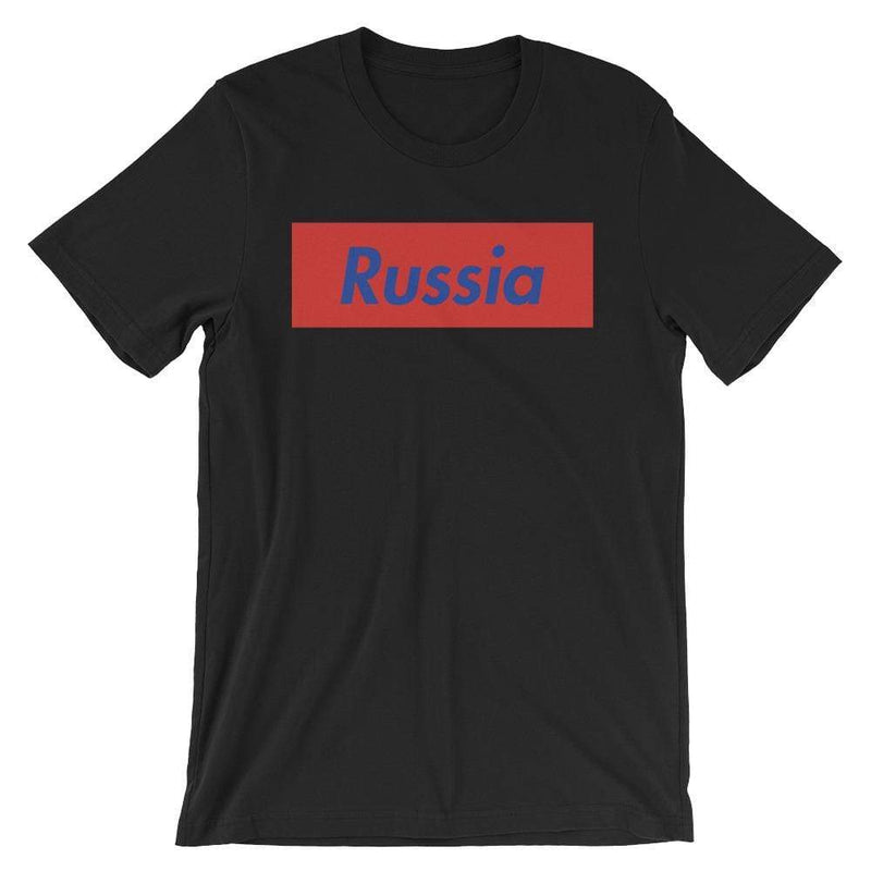 Repparel Russia Black / XS Hypebeast Streetwear Eco-Friendly Full Cotton T-Shirt