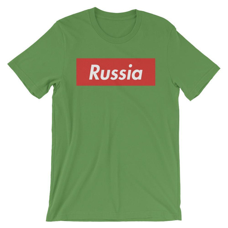Repparel Russia Leaf / S Hypebeast Streetwear Eco-Friendly Full Cotton T-Shirt