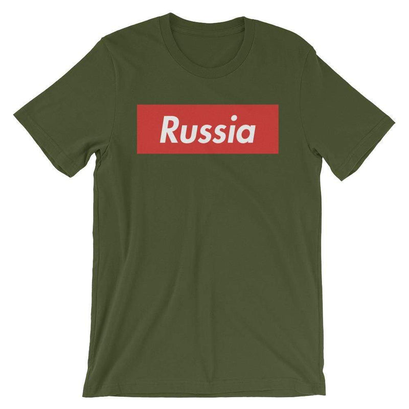 Repparel Russia Olive / S Hypebeast Streetwear Eco-Friendly Full Cotton T-Shirt