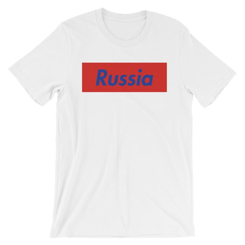 Repparel Russia White / XS Hypebeast Streetwear Eco-Friendly Full Cotton T-Shirt