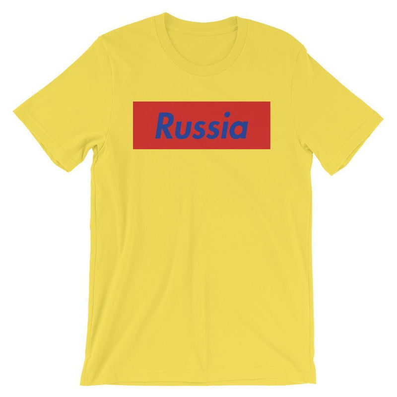 Repparel Russia Yellow / S Hypebeast Streetwear Eco-Friendly Full Cotton T-Shirt