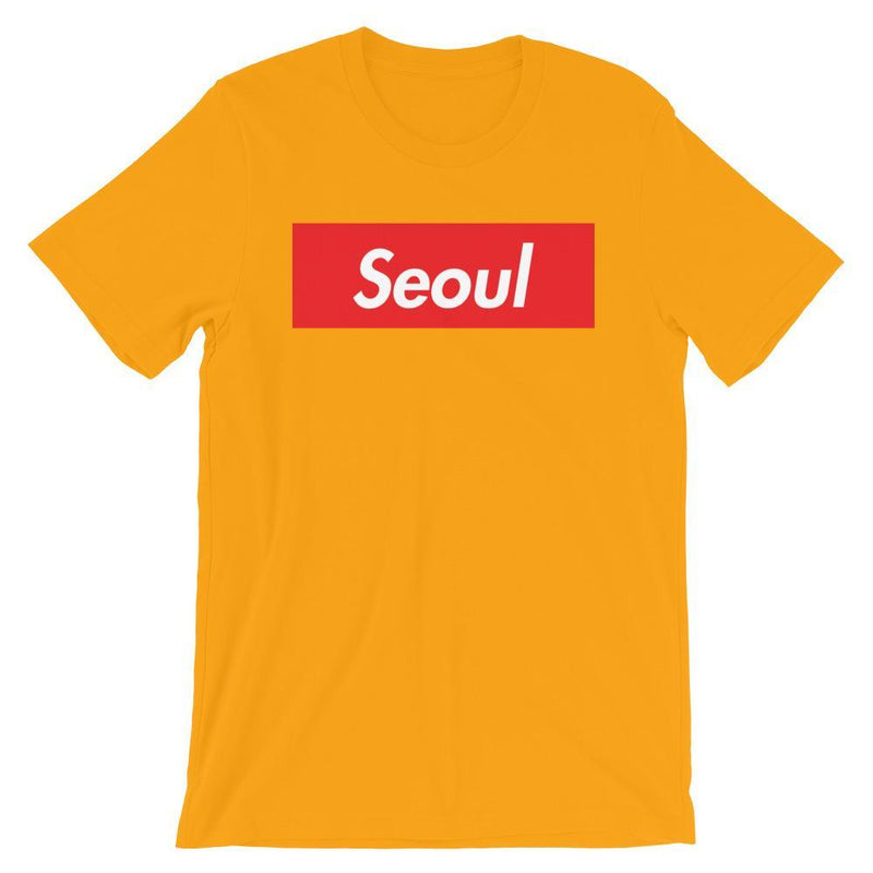 Repparel Seoul Gold / S Hypebeast Streetwear Eco-Friendly Full Cotton T-Shirt