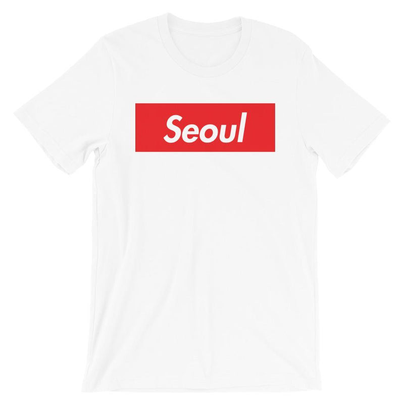 Repparel Seoul White / XS Hypebeast Streetwear Eco-Friendly Full Cotton T-Shirt