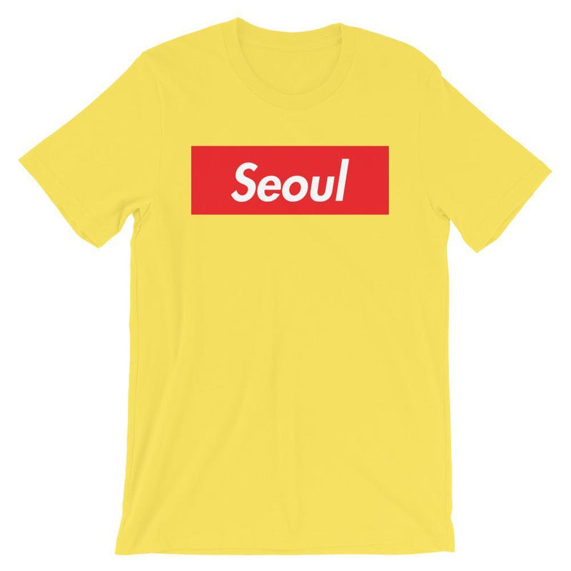 Repparel Seoul Yellow / S Hypebeast Streetwear Eco-Friendly Full Cotton T-Shirt