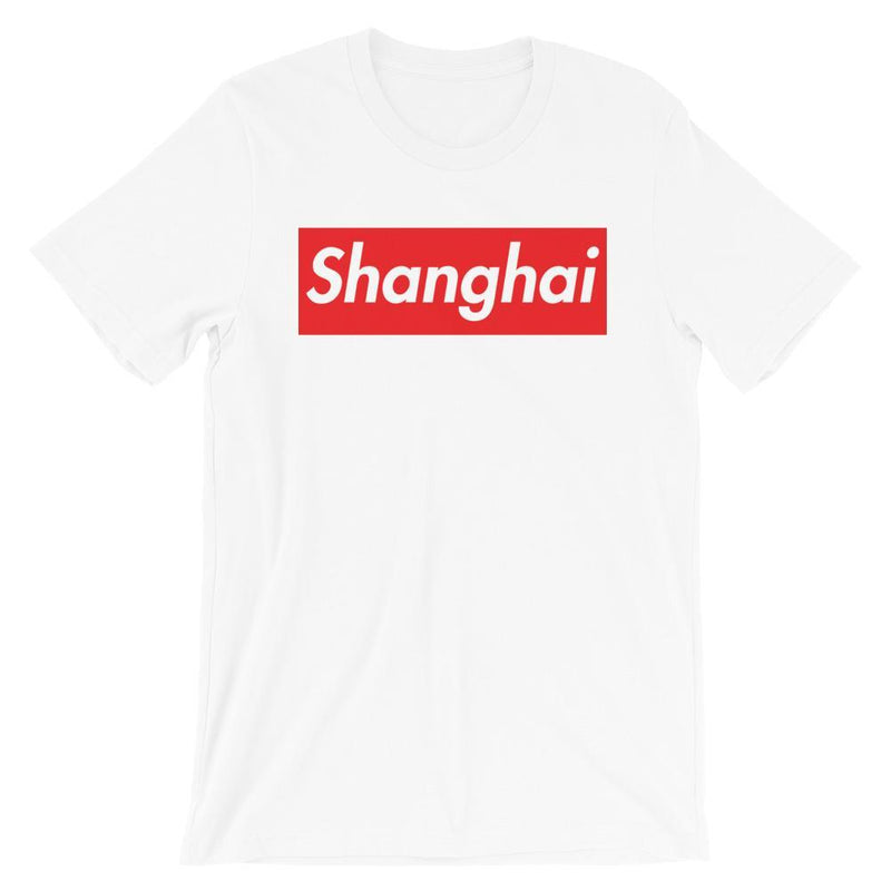 Repparel Shanghai White / XS Hypebeast Streetwear Eco-Friendly Full Cotton T-Shirt