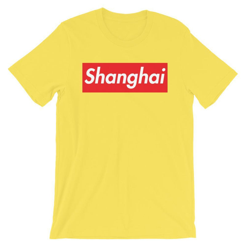 Repparel Shanghai Yellow / S Hypebeast Streetwear Eco-Friendly Full Cotton T-Shirt
