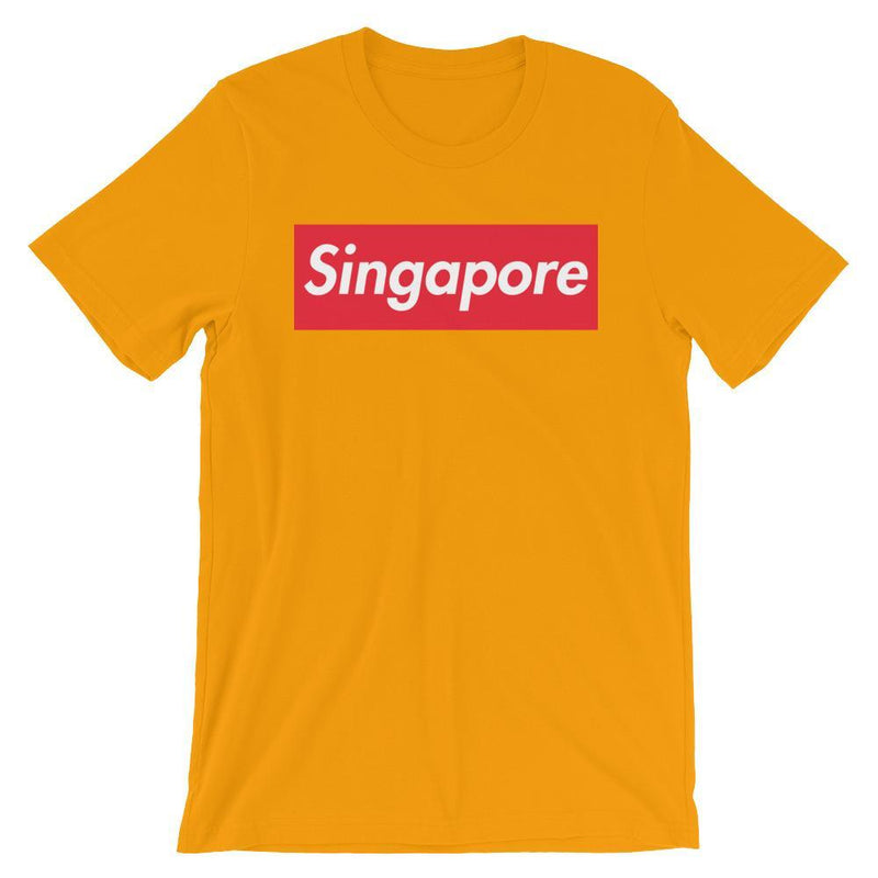 Repparel Singapore Gold / S Hypebeast Streetwear Eco-Friendly Full Cotton T-Shirt