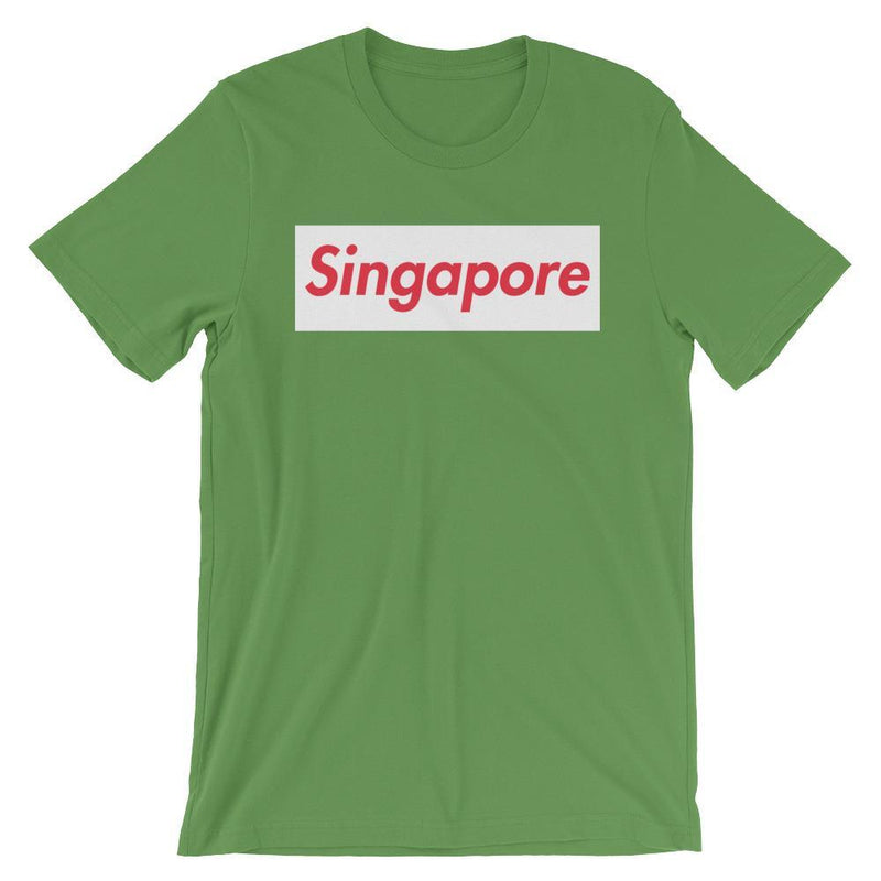 Repparel Singapore Leaf / S Hypebeast Streetwear Eco-Friendly Full Cotton T-Shirt