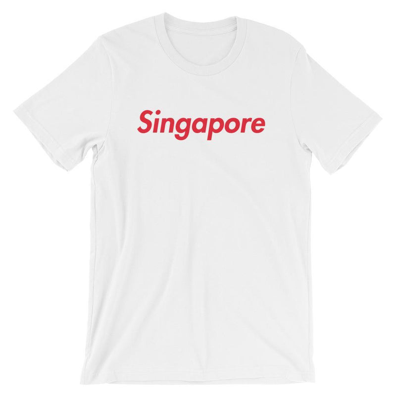 Repparel Singapore White / XS Hypebeast Streetwear Eco-Friendly Full Cotton T-Shirt