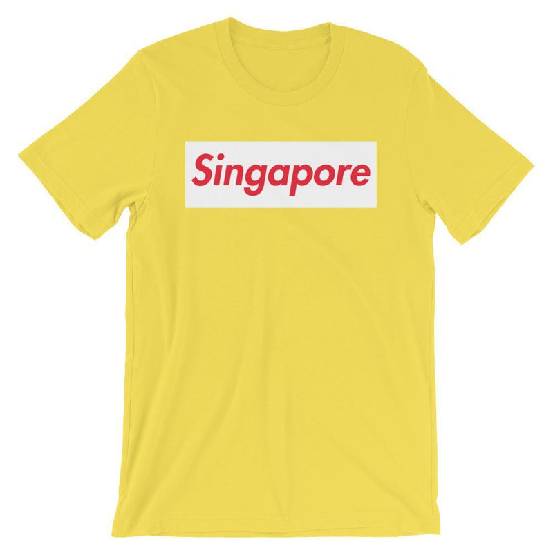 Repparel Singapore Yellow / S Hypebeast Streetwear Eco-Friendly Full Cotton T-Shirt