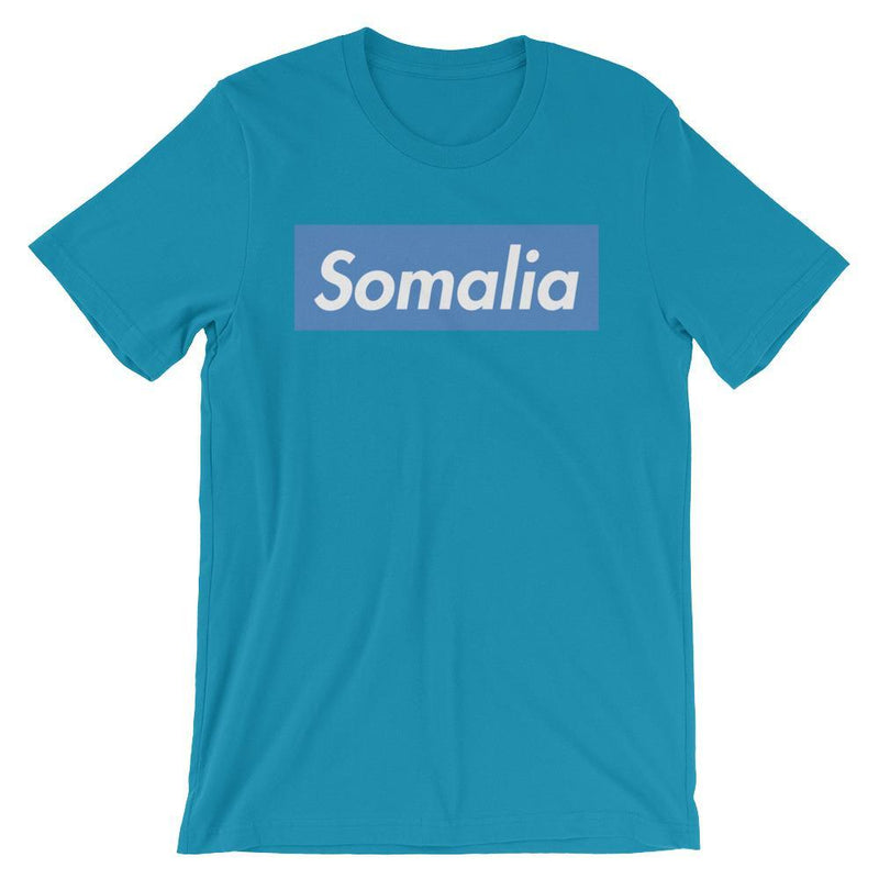 Repparel Somalia Aqua / S Hypebeast Streetwear Eco-Friendly Full Cotton T-Shirt