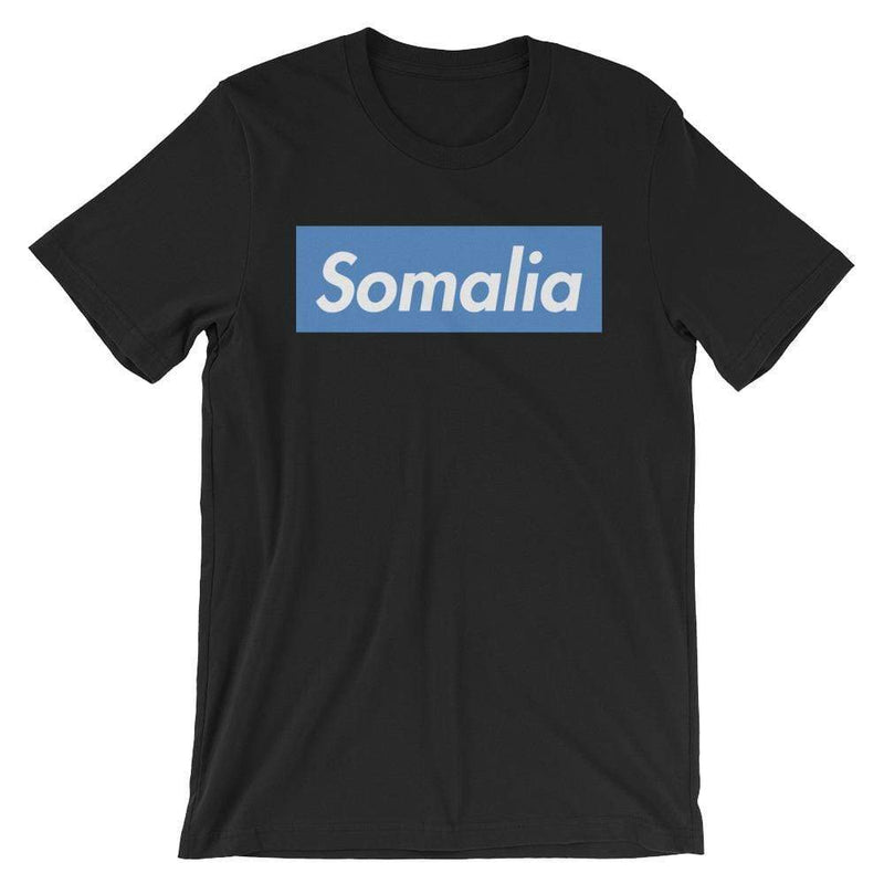 Repparel Somalia Black / XS Hypebeast Streetwear Eco-Friendly Full Cotton T-Shirt