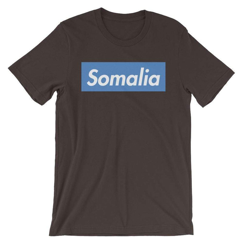 Repparel Somalia Brown / S Hypebeast Streetwear Eco-Friendly Full Cotton T-Shirt