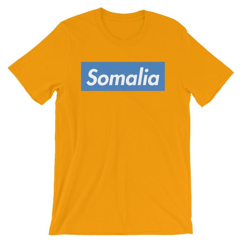 Repparel Somalia Gold / S Hypebeast Streetwear Eco-Friendly Full Cotton T-Shirt