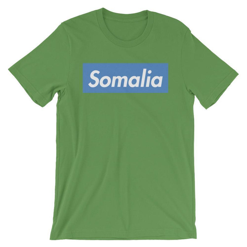 Repparel Somalia Leaf / S Hypebeast Streetwear Eco-Friendly Full Cotton T-Shirt