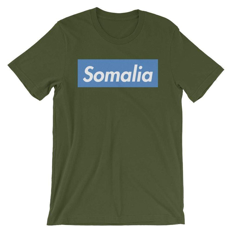 Repparel Somalia Olive / S Hypebeast Streetwear Eco-Friendly Full Cotton T-Shirt